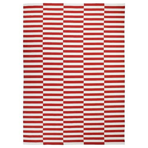 斯德哥尔摩 2017 平织地毯 手工制作/条形图案 红色 350 厘米 250 厘米 8.75 平方米