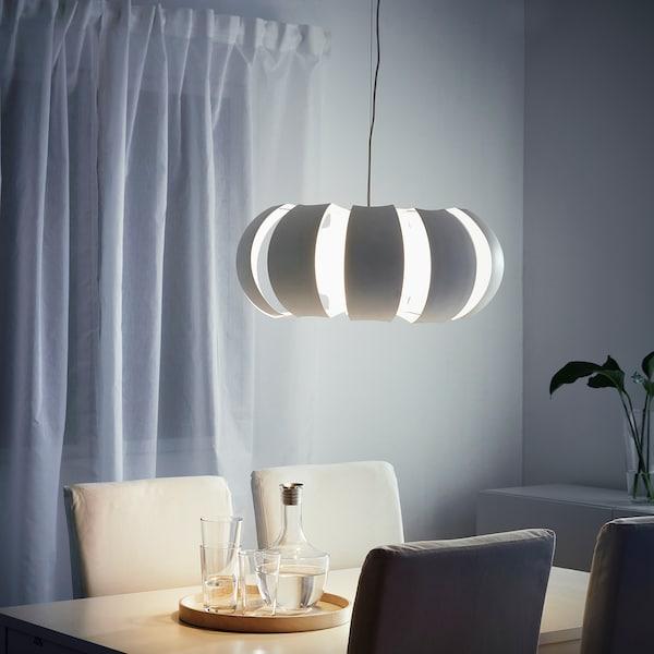 斯德哥尔摩 吊灯 白色 60 瓦特 23 厘米 55 厘米 1.5 米