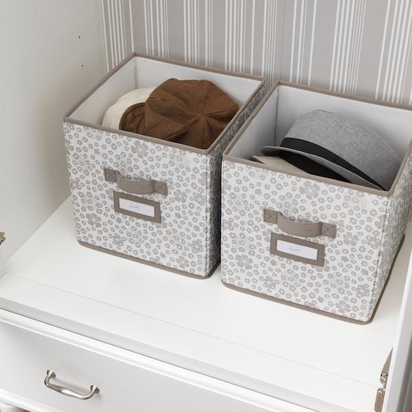 司徒斯塔博 附盖储物盒 米黄色 30 厘米 30 厘米 30 厘米
