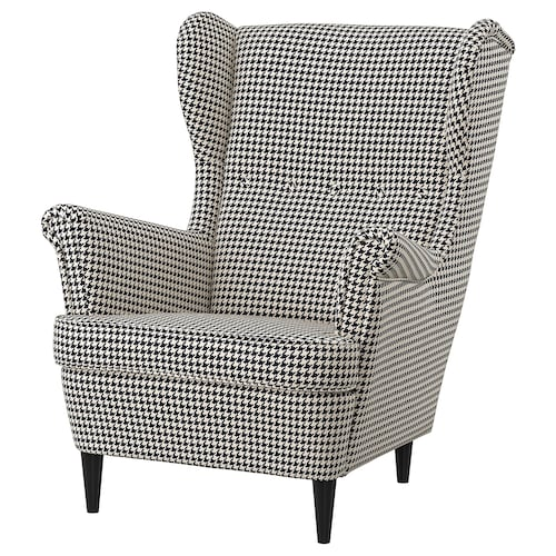 斯佳蒙 靠背椅 维波伯 黑色/米黄色 82 厘米 96 厘米 101 厘米 49 厘米 54 厘米 45 厘米