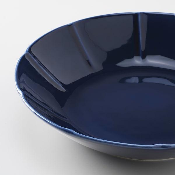 斯特里米格 深盘 石瓷 蓝色 5 厘米 23 厘米