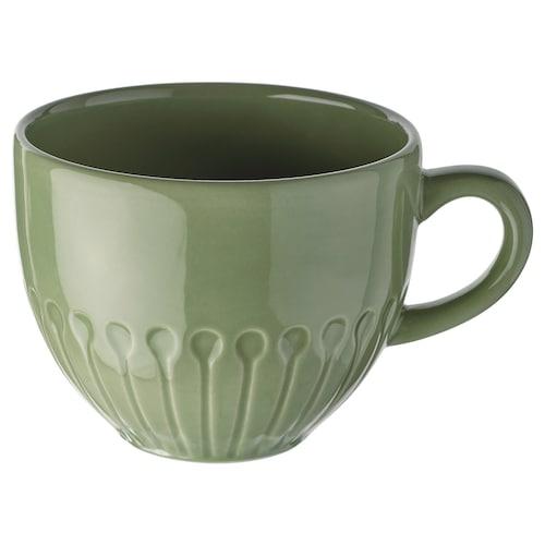 斯特里米格 大杯 石瓷/绿色 8 厘米 36 厘升