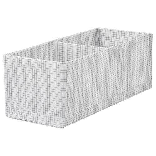 斯图克 储物盒带格 白色/灰色 20 厘米 51 厘米 18 厘米