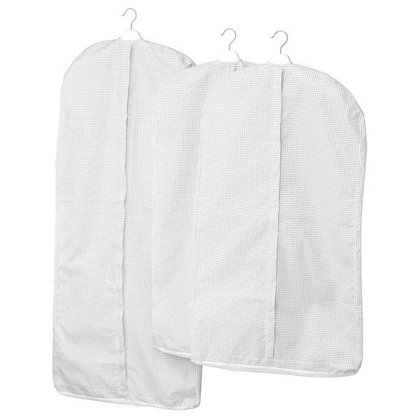 斯图克 衣服罩,3件套 白色/灰色