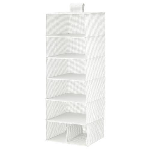 斯图克 7格储物件 白色/灰色 30 厘米 30 厘米 90 厘米