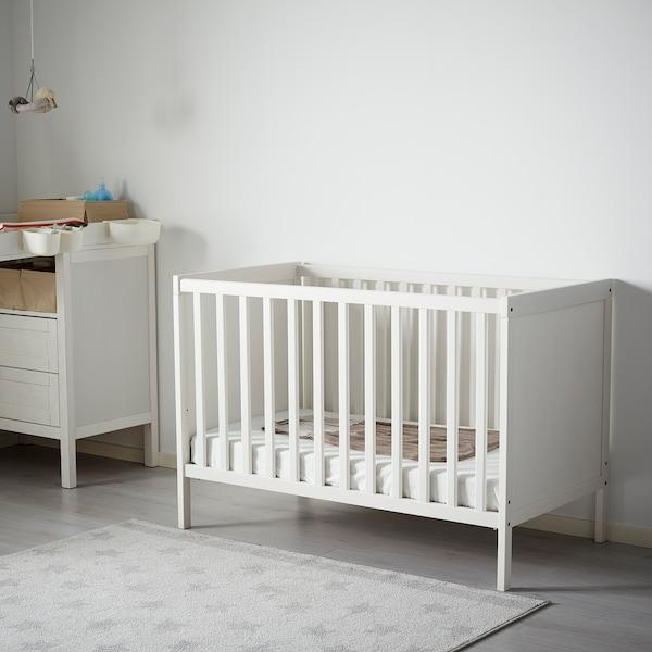 桑维 婴儿床 白色 125 厘米 67 厘米 86 厘米 60 厘米 120 厘米 20 公斤