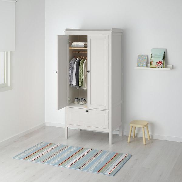 SUNDVIK 桑维 衣柜, 白色, 80x50x172 厘米