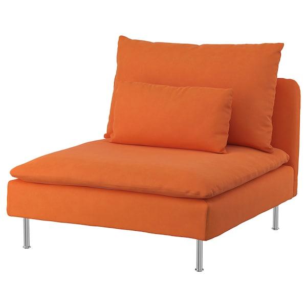 索德汉 单人沙发垫套, 萨斯塔 橙色