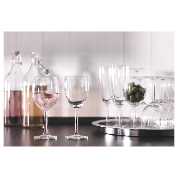 SVALKA 施尔卡 白葡萄酒杯, 透明玻璃, 25 厘升