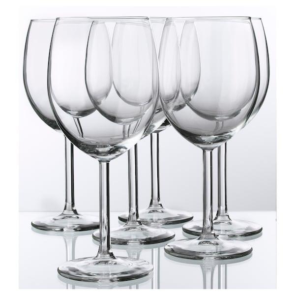 施尔卡 酒杯 透明玻璃 18 厘米 30 厘升 6 件