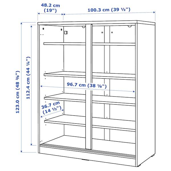 IKEA 斯维德 玻璃门橱柜