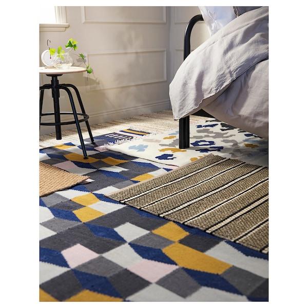 托尔贝克 平织地毯 手工制作/多色 240 厘米 170 厘米 4 毫米 4.08 平方米 1400 克/平方米