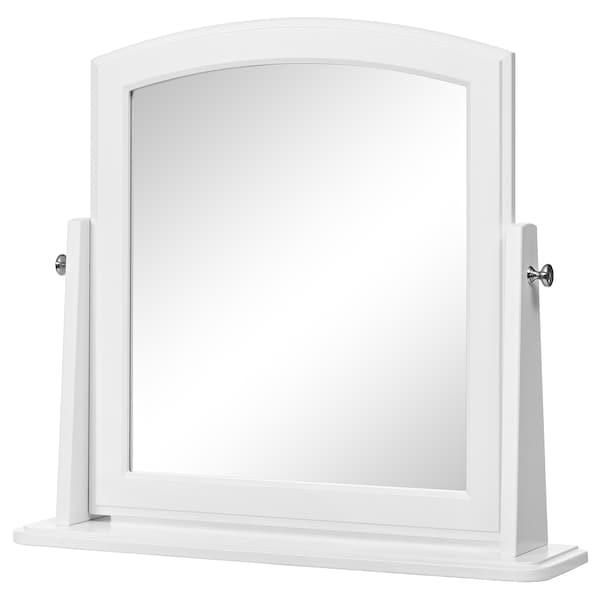 提赛尔 镜子, 白色, 63x58 厘米