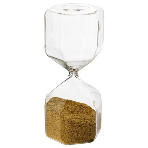 提斯 装饰沙漏 透明玻璃 16 厘米