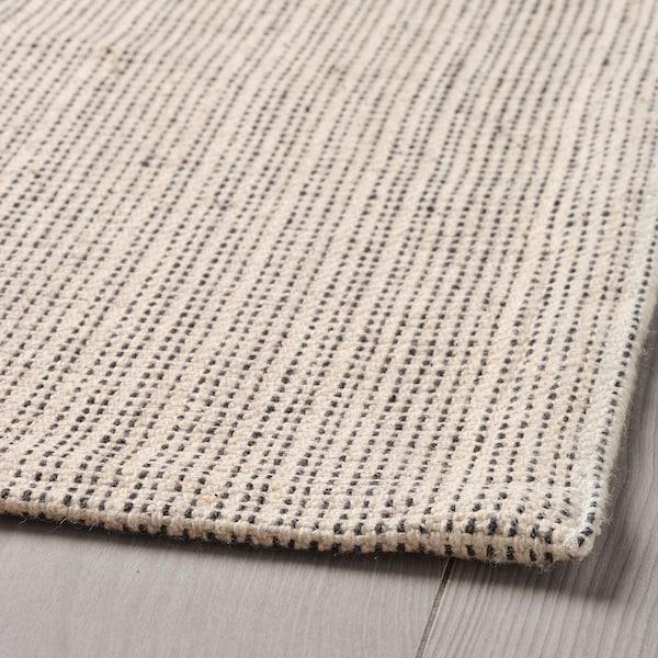 提普赫德 平织地毯 自然色/灰白 180 厘米 120 厘米 2 毫米 2.16 平方米 700 克/平方米