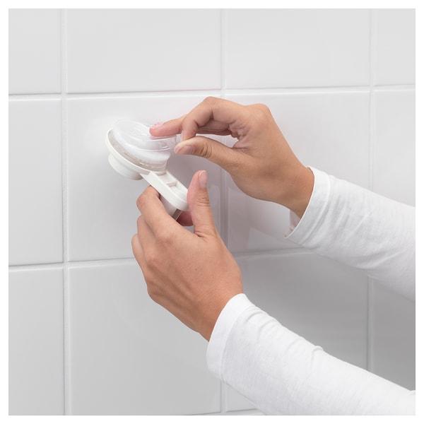 提斯科恩 带吸盘毛巾架 白色 87 厘米 53 厘米 83 厘米 8 厘米 10 厘米 3 公斤