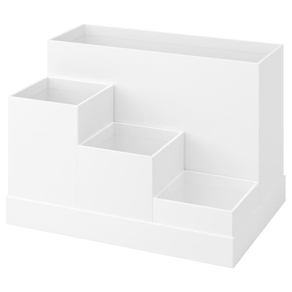 TJENA 希纳 办公桌收纳件, 白色, 18x17 厘米