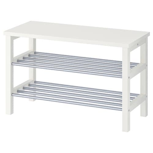 图西格 长凳,可放鞋 白色 81 厘米 34 厘米 50 厘米