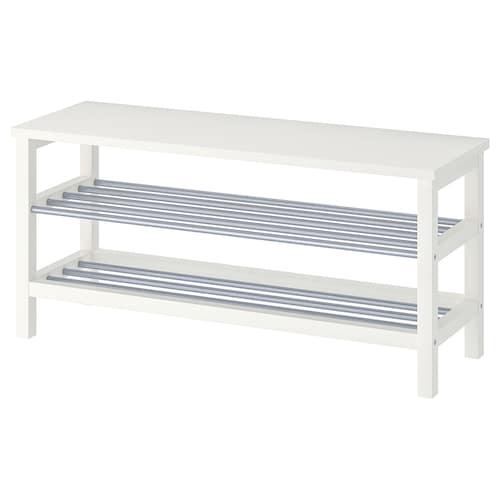 图西格 长凳,可放鞋 白色 108 厘米 34 厘米 50 厘米