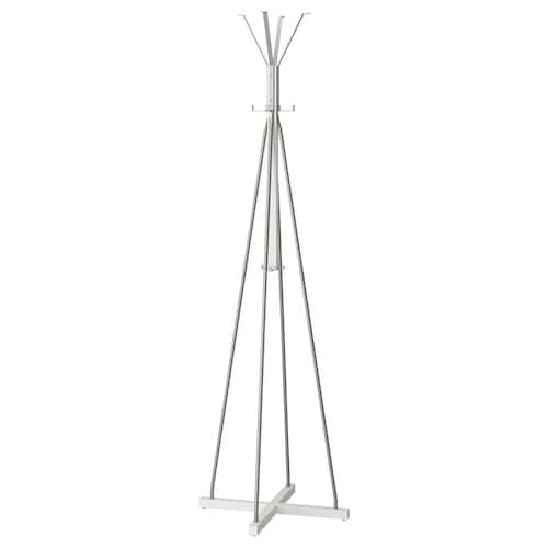 图西格 衣帽架 白色 60 厘米 60 厘米 193 厘米