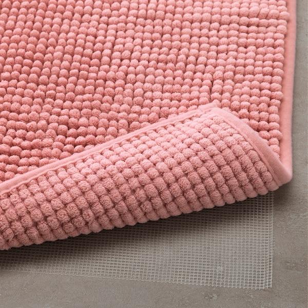 托夫波 浴室地垫 粉红色 60 厘米 40 厘米 0.24 平方米 1410 克/平方米