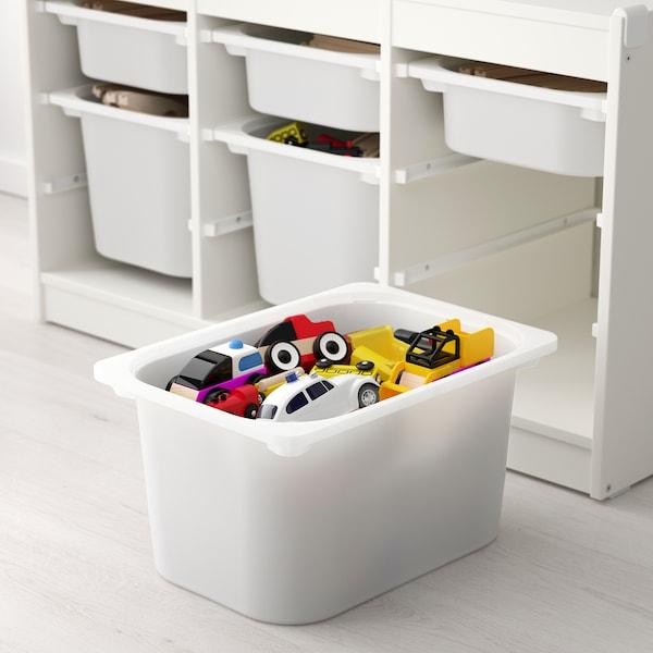 舒法特 储物组合带盒 白色/白色 99 厘米 44 厘米 55 厘米