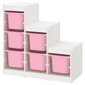 颜色: 白色/粉红色.