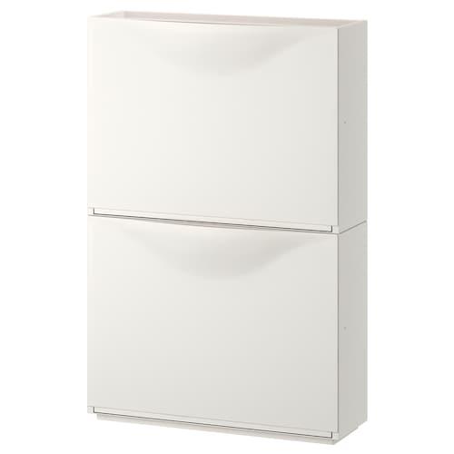 强尼思 鞋柜/储藏 白色 52 厘米 18 厘米 39 厘米 2 件