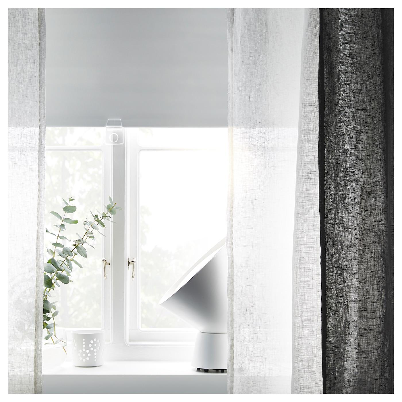 TUPPLUR 图普勒 遮光卷帘, 白色, 140x195 厘米