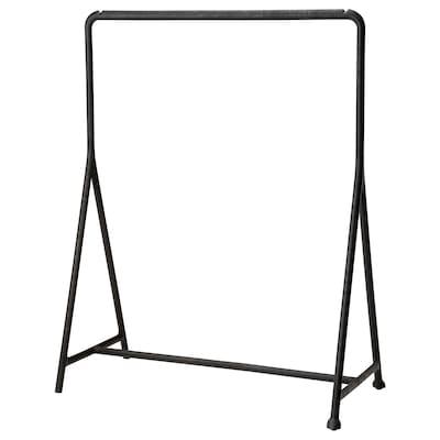 TURBO 特伯 晒衣架, 室内/户外/黑色, 117x59 厘米