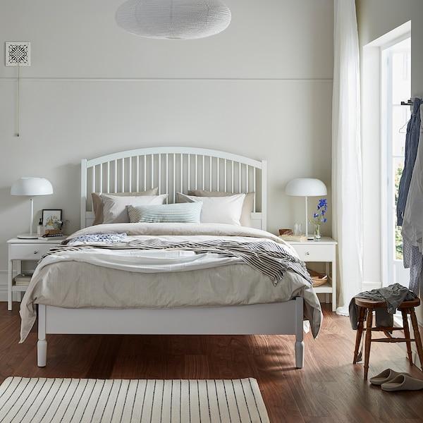 提赛尔 床架 白色/鲁瑞 210 厘米 158 厘米 44 厘米 140 厘米 20 厘米 200 厘米 150 厘米