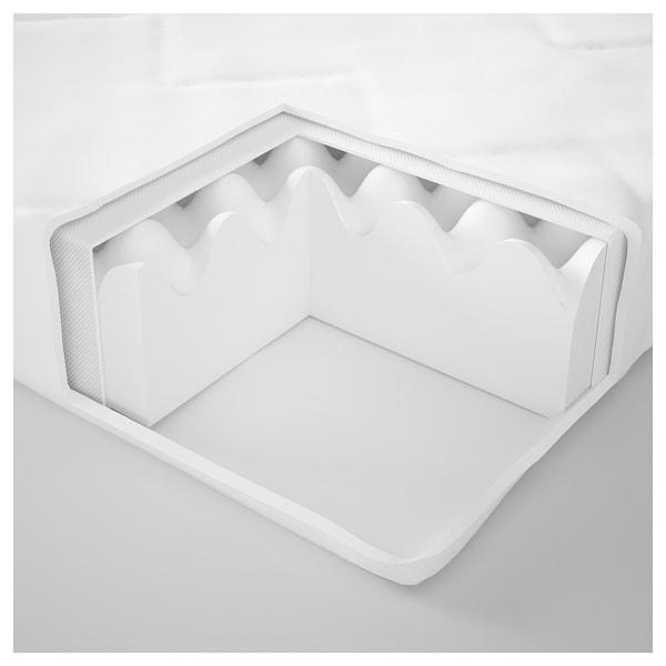 安德利 儿童床泡沫床垫 白色 160 厘米 70 厘米 10 厘米
