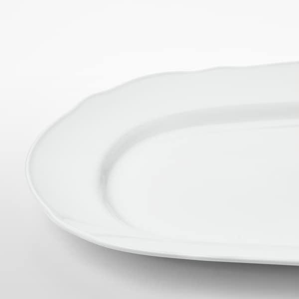 乌普洛卡 上菜盘 白色 44 厘米 30 厘米 3.5 厘米