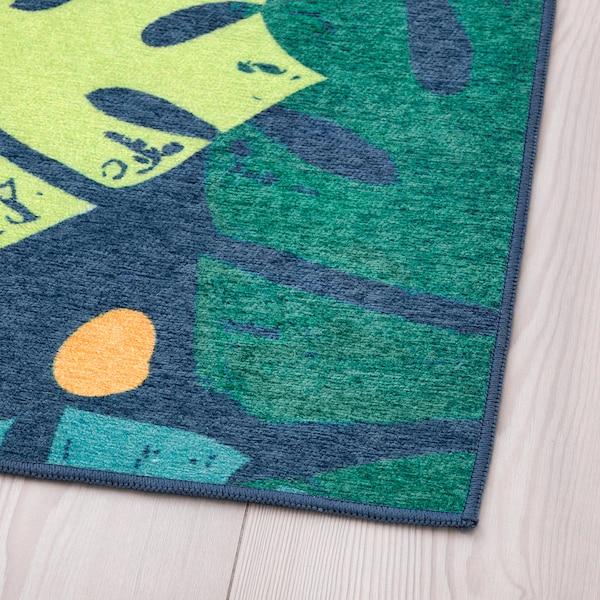 于尔斯库格 平织地毯 叶/绿色 160 厘米 133 厘米 2.13 平方米