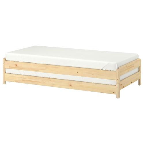 于托克 叠床 松木 46 厘米 205 厘米 83 厘米 23 厘米 2 件 200 厘米 80 厘米