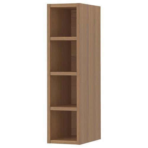 瓦德侯玛 开放式储物 褐色/着色白蜡木 20 厘米 37 厘米 80 厘米