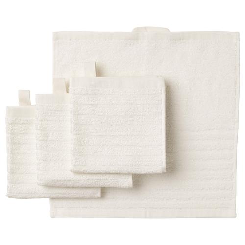 沃格逊 小方巾 白色 30 厘米 30 厘米 0.09 平方米 400 克/平方米 4 件