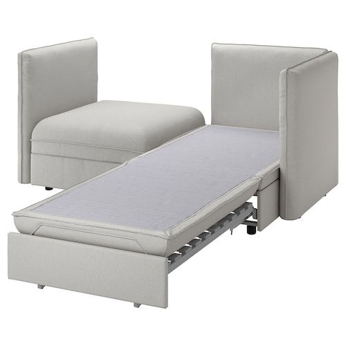 瓦伦图 双人沙发带沙发床 和储物/欧斯塔 淡灰色 186 厘米 113 厘米 84 厘米 80 厘米 100 厘米 45 厘米 80 厘米 200 厘米