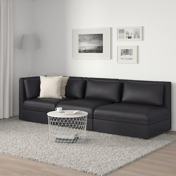 瓦伦图 三人沙发带沙发床 单边开放式/穆鲁姆 黑色 273 厘米 84 厘米 93 厘米 80 厘米 45 厘米 80 厘米 200 厘米