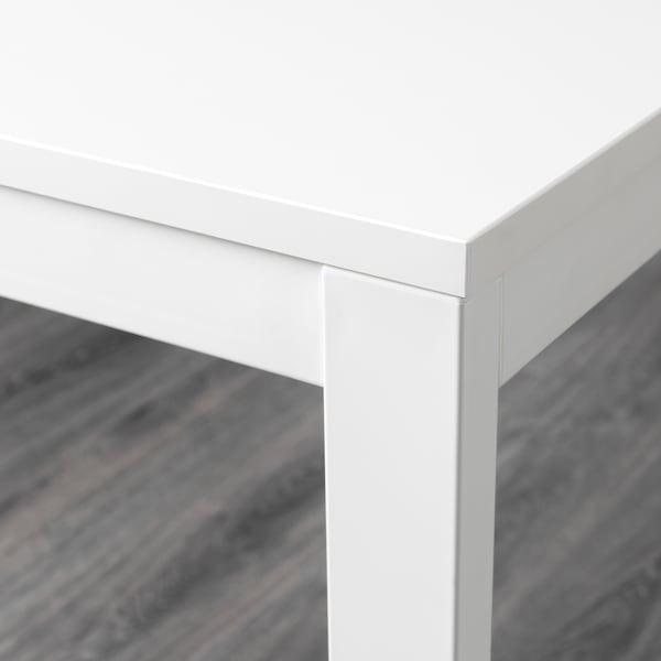 望斯塔 伸缩型餐桌 白色 120 厘米 180 厘米 75 厘米 73 厘米