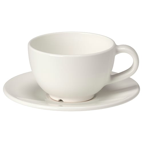 瓦达恩 咖啡杯碟 灰白 14 厘米 6 厘米 6 厘米 14 厘升