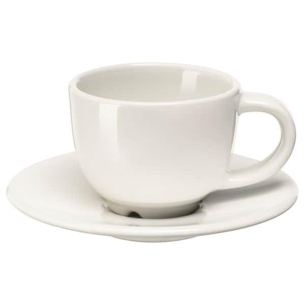 瓦达恩 咖啡杯碟 灰白 11 厘米 6 厘米 5 厘米 6 厘升