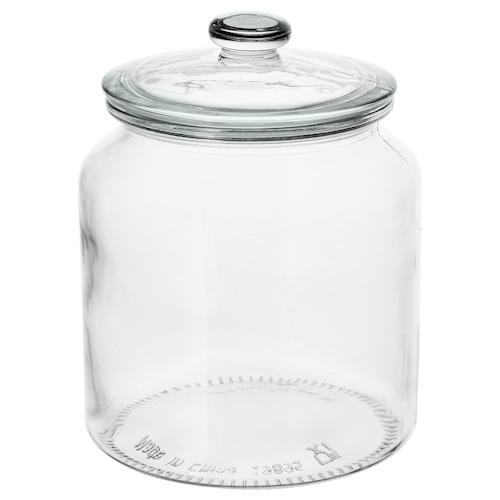 瓦达恩 附盖罐 透明玻璃 18 厘米 15 厘米 1.9 公升