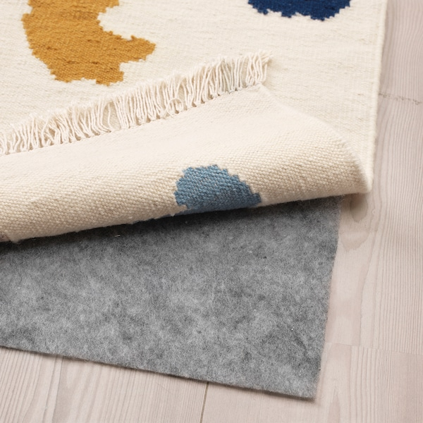 VIDEBÄK 维德巴 平织地毯, 手工制作/多色, 133x195 厘米