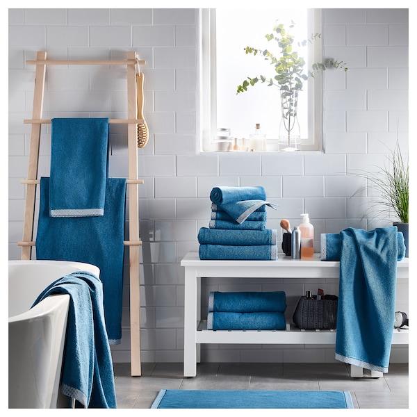 维克夫亚德 浴巾 蓝色 140 厘米 70 厘米 0.98 平方米 475 克/平方米
