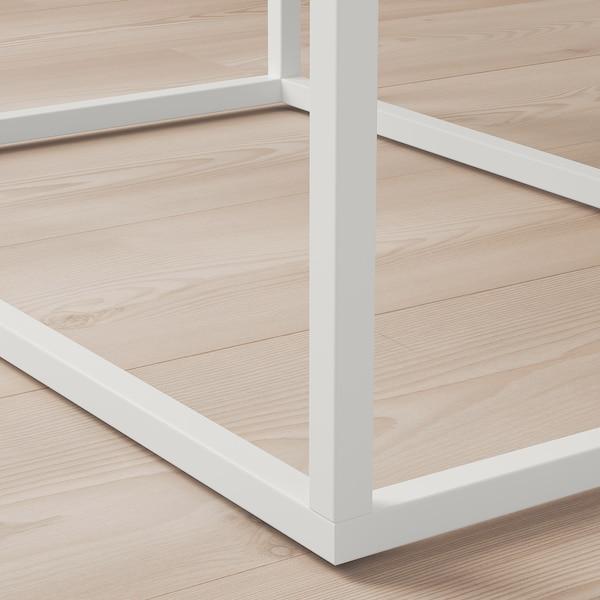 VIKHAMMER 维哈默 床头桌, 白色, 60x39 厘米