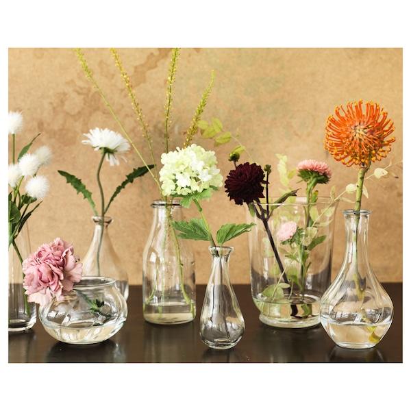 维利斯塔 花瓶 透明玻璃 8 厘米