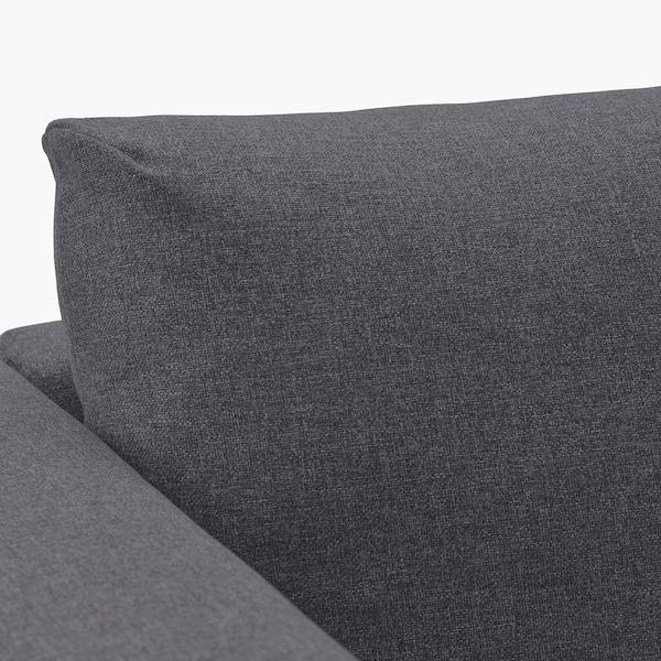 维姆勒 三人沙发床 刚纳瑞德 中灰色 53 厘米 83 厘米 68 厘米 261 厘米 98 厘米 241 厘米 55 厘米 48 厘米 140 厘米 200 厘米 12 厘米