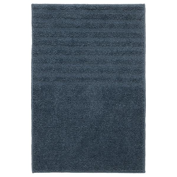 维纳法 浴室地垫 深蓝色 60 厘米 40 厘米 0.24 平方米 1310 克/平方米