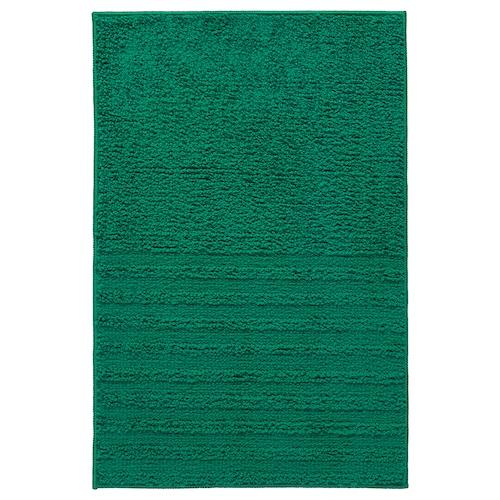 维纳法 浴室地垫 深绿色 60 厘米 40 厘米 0.24 平方米 1310 克/平方米